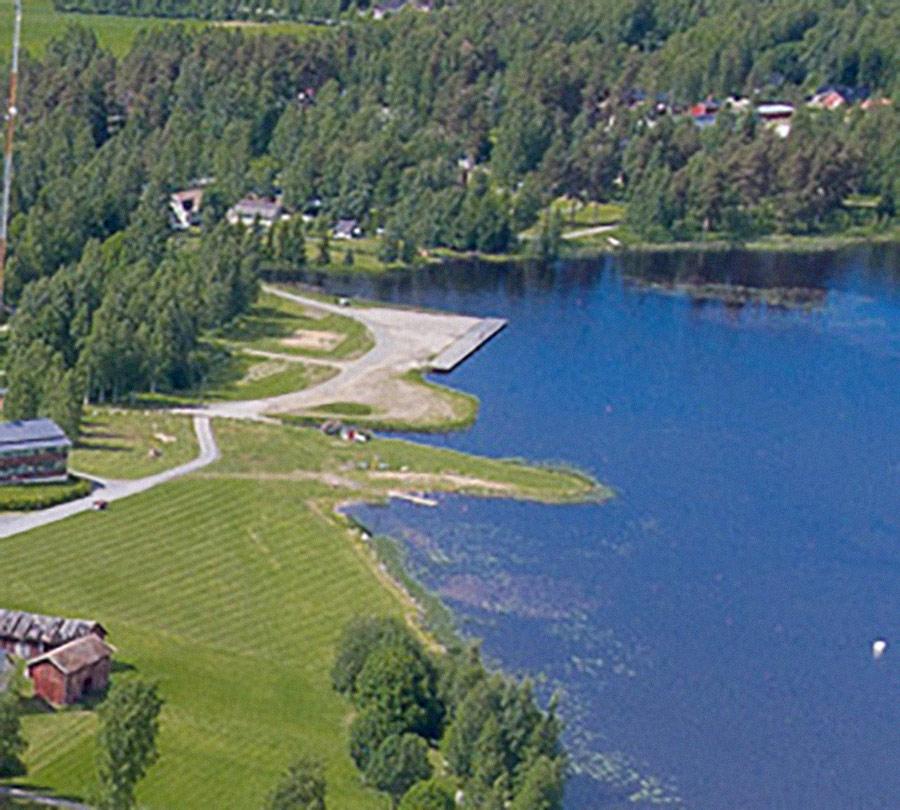 Kirkonkylän venesatama ja uimaranta